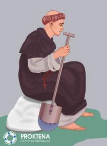 Sv. Fiacre zaštitnik bolesnika s hemoroidima